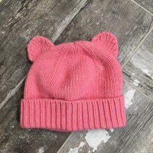 Crewcuts Girls' L / XL pink winter hat